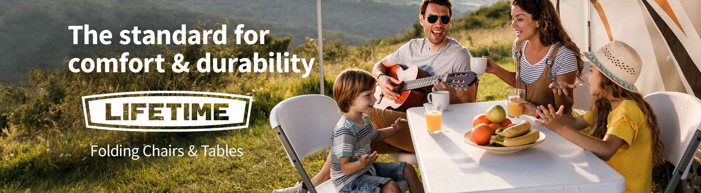 Lifetime Folding Chairs & Tables