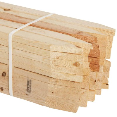 Kitzmans 3/8 In. x 1-1/2 In. x 48 In. Lath Stake (50-Pack)