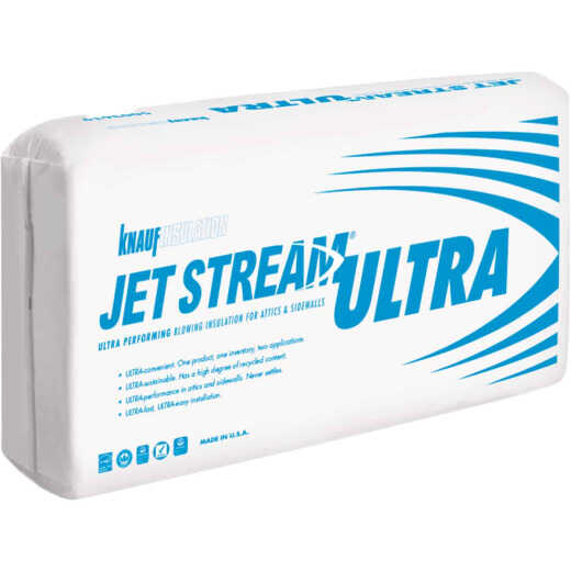Knauf Jet Stream Ultra Blow-In Fiberglass Insulation