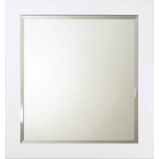 Bertch Osage White 28 In. W x 30 In. H Vanity Mirror