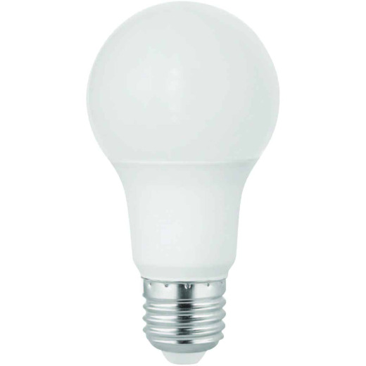 Satco 60W Equivalent Warm White A19 Medium LED Light Bulb (10-Pack)