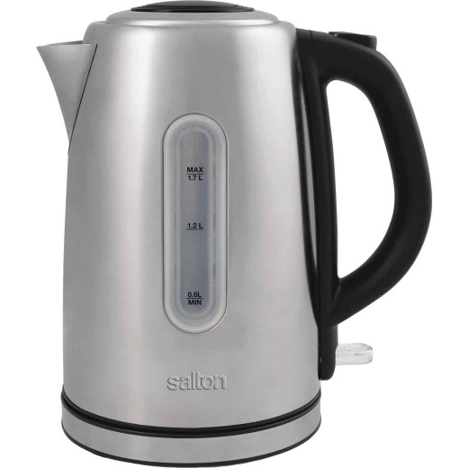 Salton 1.7 Ltr. Cordless Electric Stainless Steel Kettle