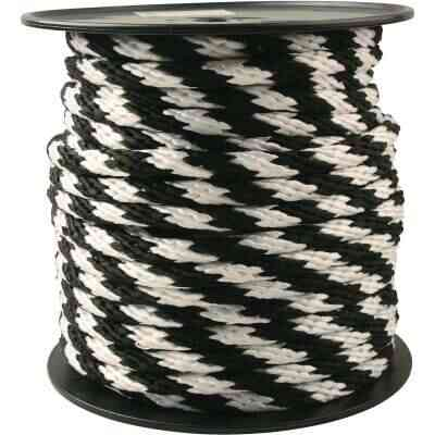 Do it 5/8 In. x 150 Ft. Black & White Derby Polypropylene Rope