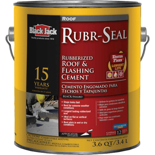 Black Jack Rubr-Seal 1 Gal. 15 Year Roof and Flashing Cement