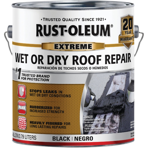 Rust-Oleum 1 Gal. Rubberized Wet Roof Repair