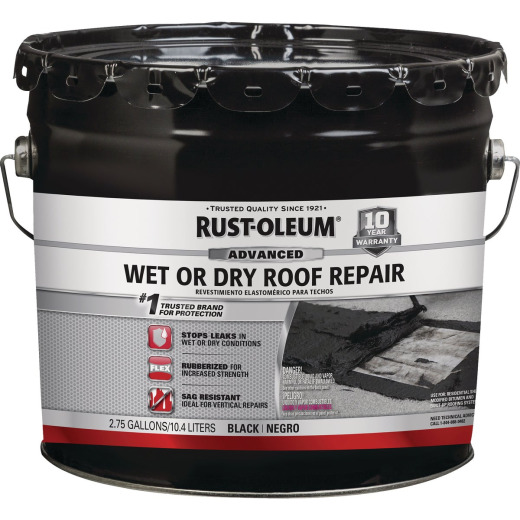 Rust-Oleum 3.3 Gal. Roofing Repair Wet Patch