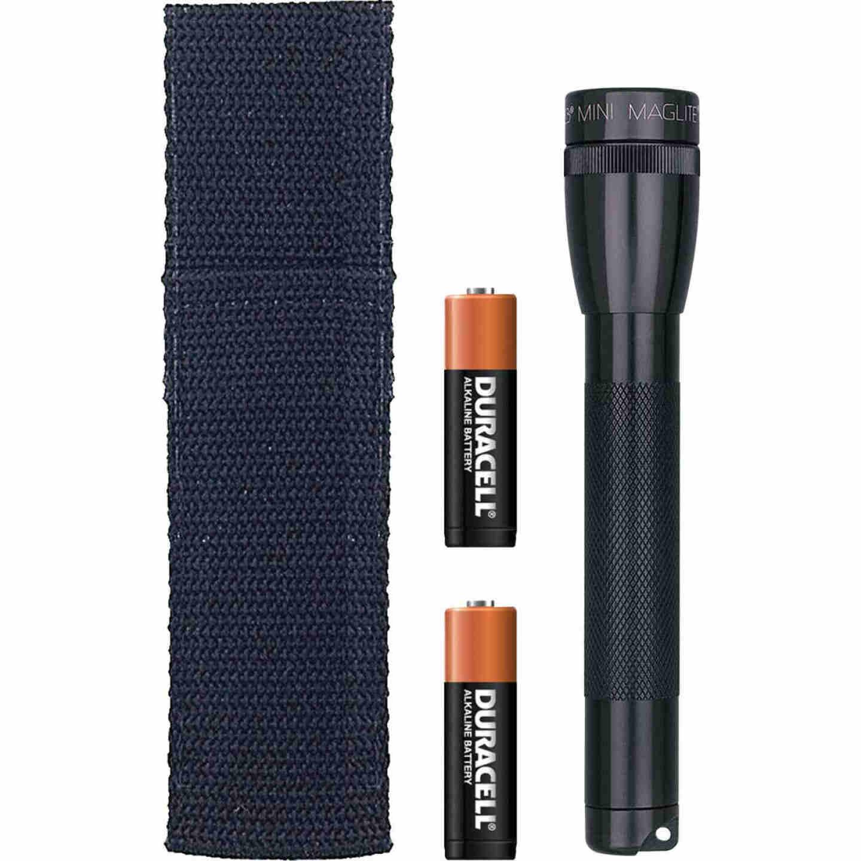 Maglite 14 Lm. Xenon 2AA Flashlight, Black Image 1
